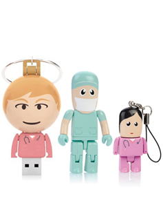 worker,doctor,nurse flash drive